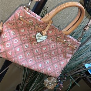 Pink Dooney and Bourke bag